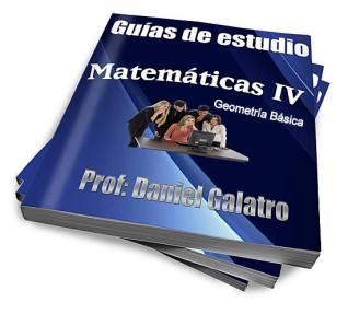 """Prof. Daniel Aníbal Galatrodanielgalatro@gmail.com - 1 - ¿Qué es la Geometría? 2 - ¿Por qué se considera a Euclides """"el padre de la Geometría""""? 3 - ¿Cuáles son los entes fundamentales de la Geometría? - El punto. - La recta. - El plano. - Direcciones de una recta, semirrecta o segmento. - Posiciones relativas de dos rectas. -¿Cuál es la diferencia entre """"área"""" y """"superficie""""? 4 – Ángulo 2D. 5 – Ángulo diedro 3D. 6 – Definición de ángulo para la Trigonometría. 7 – Sistemas de medición de ángulos. 8 – Clasificación de los ángulos. 9 - Ángulos entre dos paralelas cortadas por una transversal. 10 – Polígono. 11 – Elementos de un polígono. Polígono regular. 12 – Clasificación de los polígonos según su contorno. 13 – Clasificación de los polígonos según su número de lados. 14 – Triángulo. 15 – Clasificación de triángulos. 16 – Congruencia de triángulos. 17 – Semejanza de triángulos. 18 – Propiedades de los triángulos. 19 – Elementos notables de un triángulo. 20 – Centros del triángulo. 21 - Cálculo de los lados y los ángulos de un triángulo. 22 – Trigonometría."""